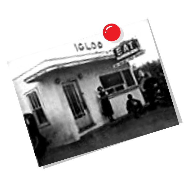 Historic Igoo Diner image from 1937.