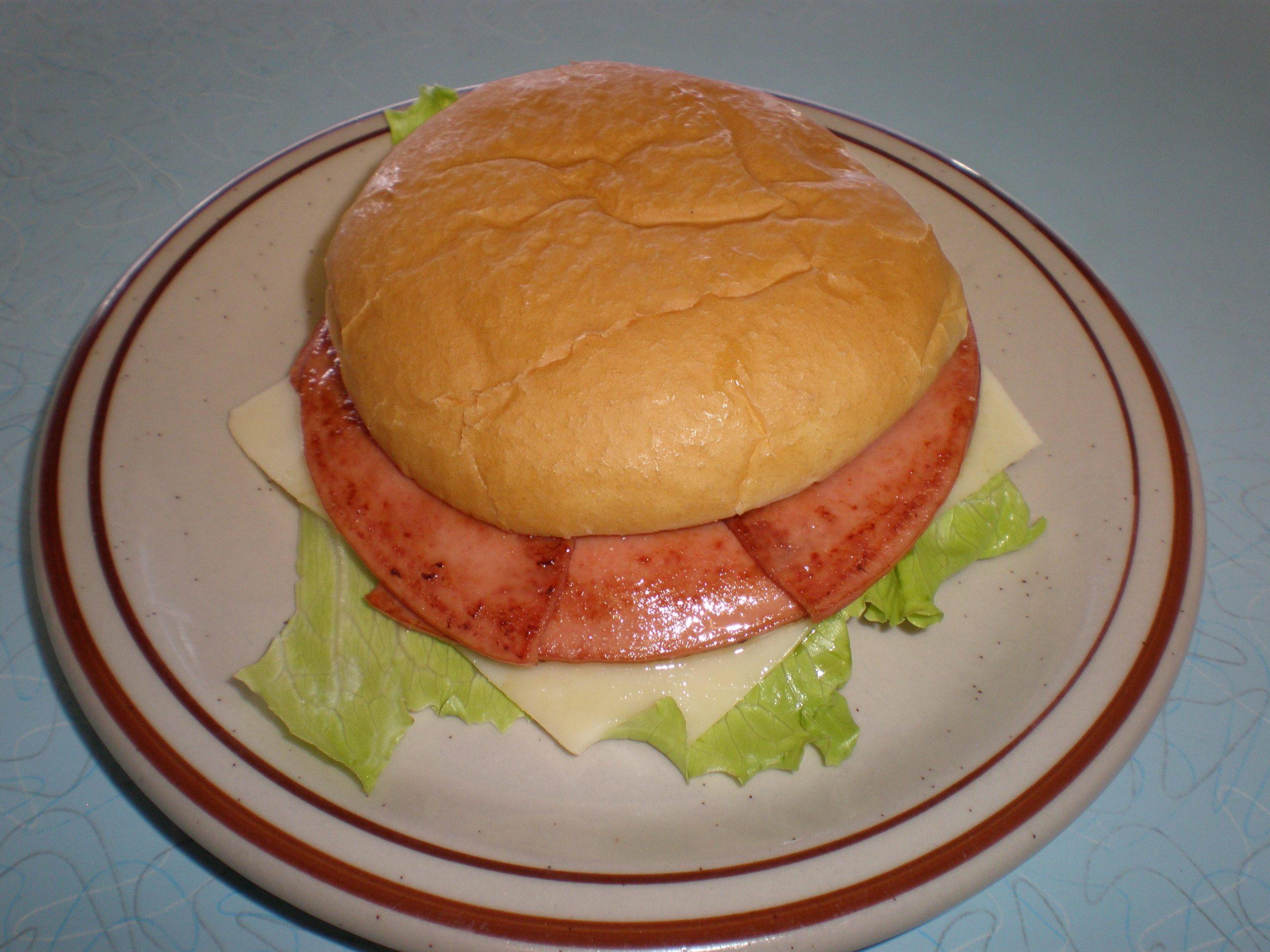 bolagna sandwich