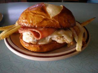 February's Sandwich of the Month: Chicken Cordon Bleu